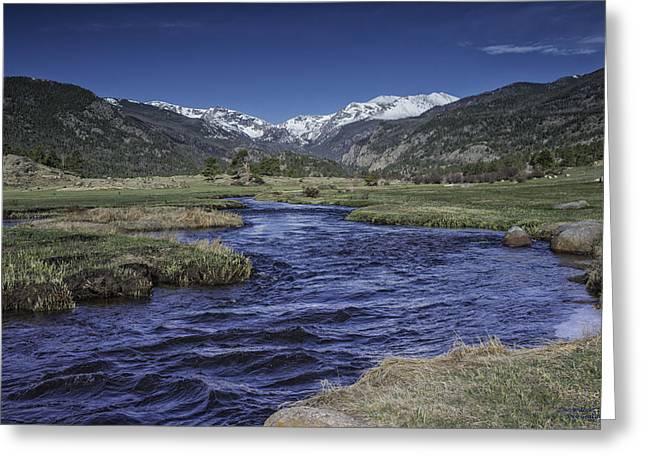 A River Runs Thru It Greeting Card by Tom Wilbert
