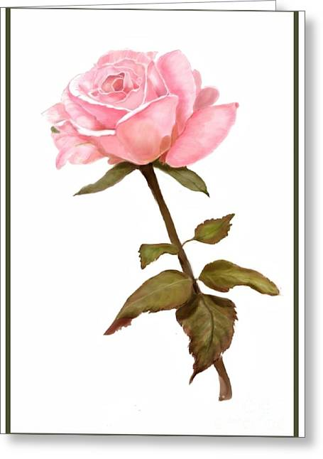 A Rose For My Love Greeting Card