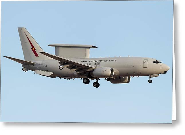 A Royal Australian Air Force E-7 Greeting Card