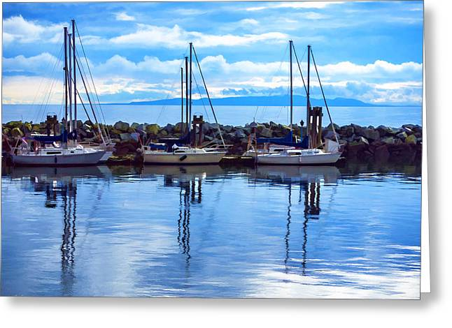 A Sailing We Will Go Greeting Card