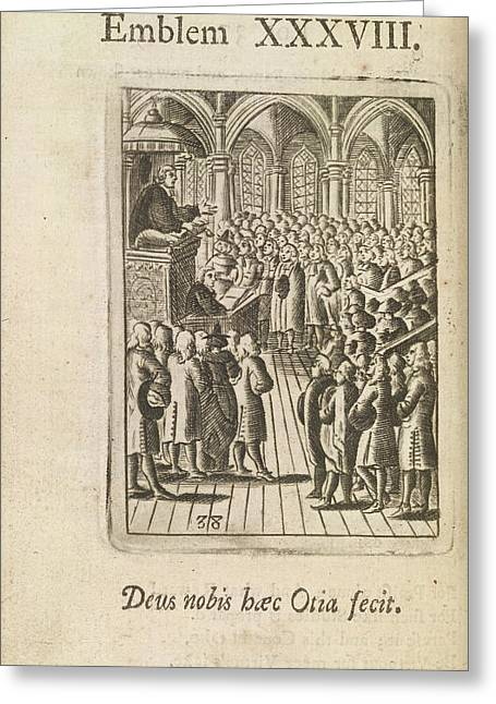 A Sermon Greeting Card by British Library