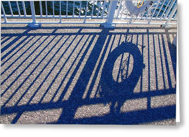 A Shadow Of Safety Greeting Card