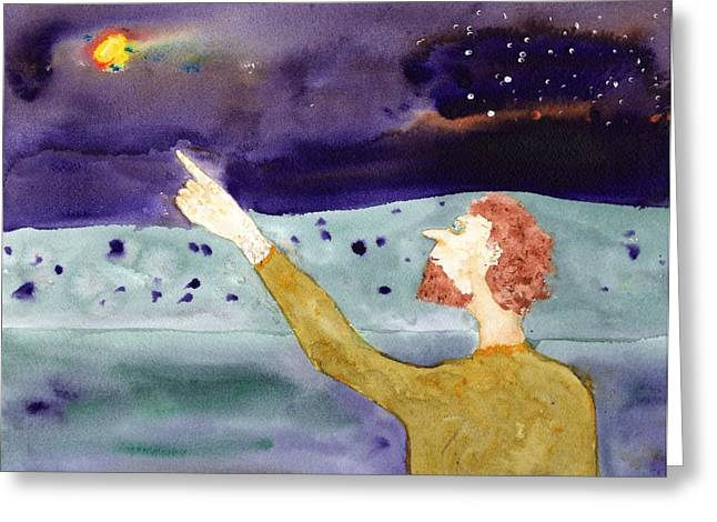 A Sighting Greeting Card by Jim Taylor