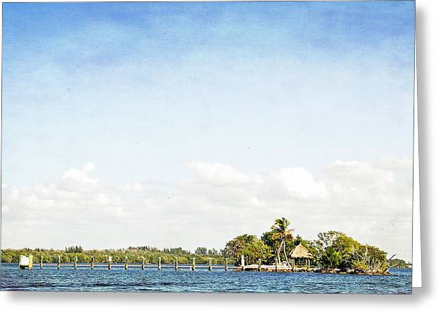 Greeting Card featuring the photograph A Small Piece Of Paradise by Rosemary Aubut