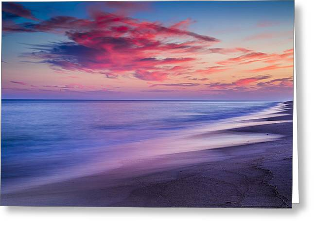 Flying Point Sunset Greeting Card