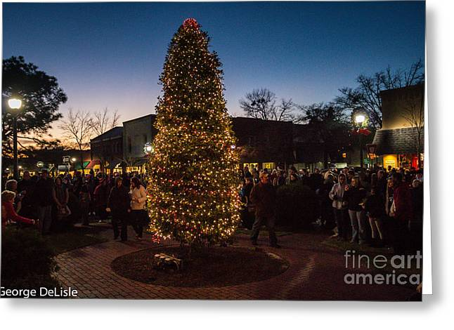 A Southern Pines Christmas 2 Greeting Card