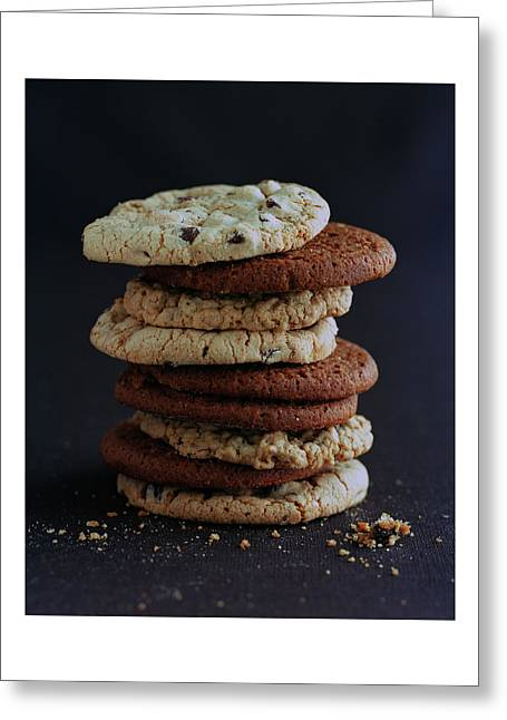 A Stack Of Cookies Greeting Card