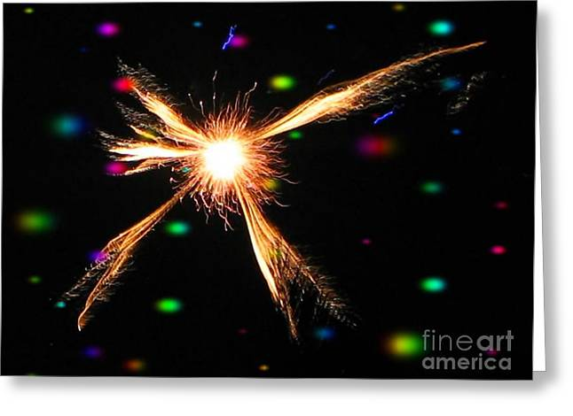 A Star In The Universe - Ile De La Reunion - Reunion Island - Indian Ocean Greeting Card by Francoise Leandre
