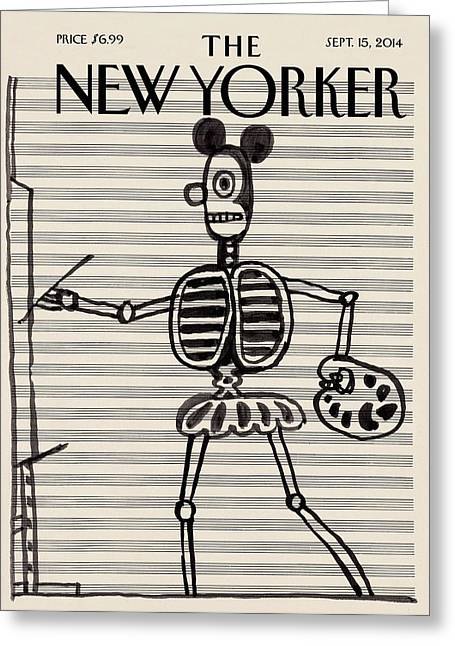 New Yorker September 15, 2014 Greeting Card