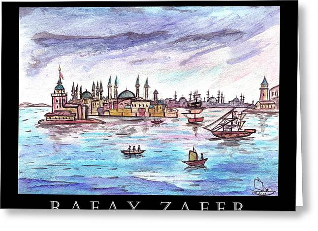 A Story Of Istanbul Greeting Card
