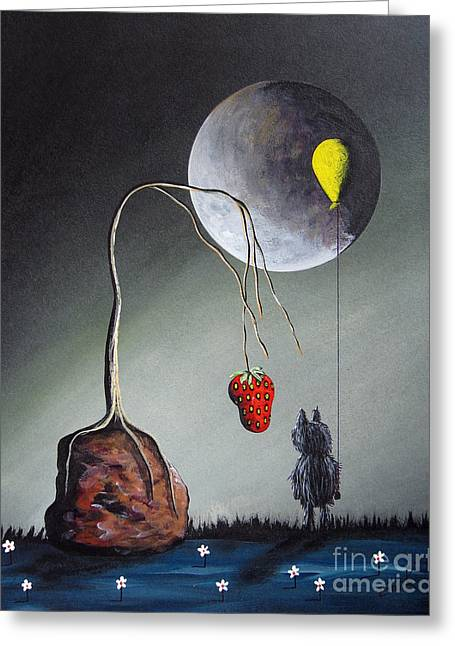 A Strange Dream By Shawna Erback Greeting Card