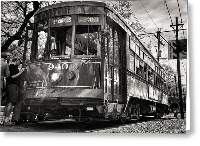 A Streetcar Named St Charles Greeting Card