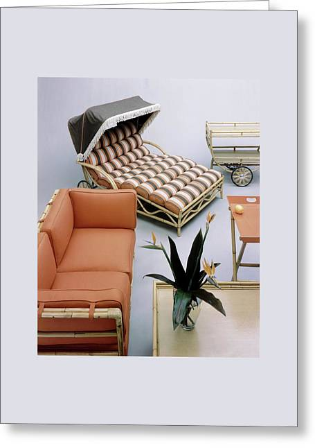 A Studio Shot Of Furniture Greeting Card by Haanel Cassidy