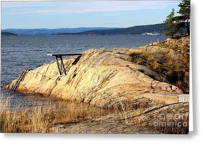 A Summer Day By The Oslo Fjord Greeting Card