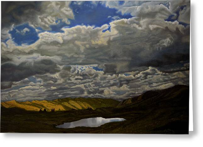 A Summer Day On Cottonwood Pass Greeting Card by Thu Nguyen