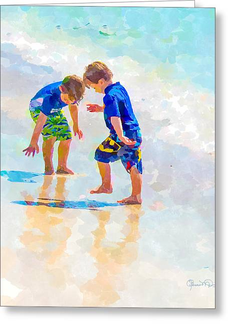A Summer To Remember Iv Greeting Card