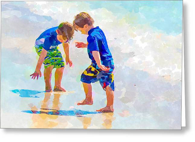 A Summer To Remember Iv Greeting Card by Susan Molnar