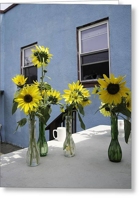 A Sunny Day Greeting Card by Michael Glenn