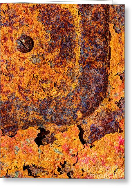 A Tad Rusty Greeting Card by Heidi Smith
