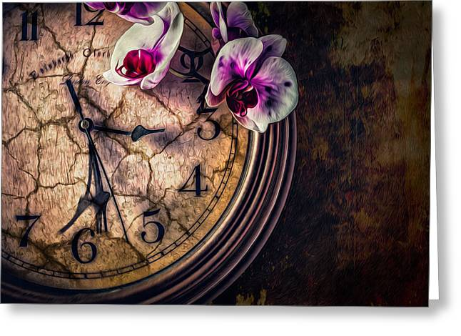 Greeting Card featuring the photograph A Time For Everything by Joshua Minso