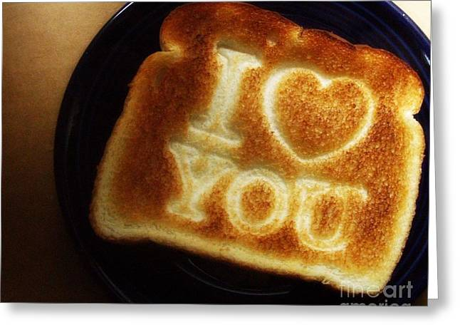 Greeting Card featuring the photograph A Toast To My Love by Kristine Nora