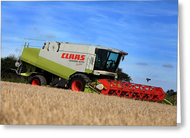 A Touch Of Claas Greeting Card by Paul Lilley