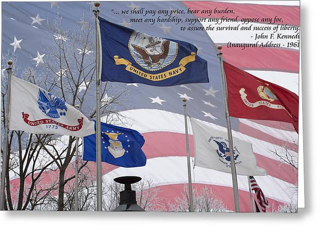 A Tribute To Our Freedom Greeting Card