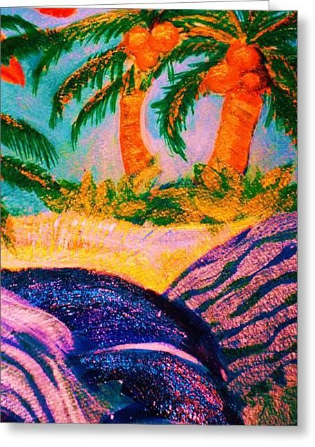 A Trip To The Tropics Greeting Card by Anne-Elizabeth Whiteway