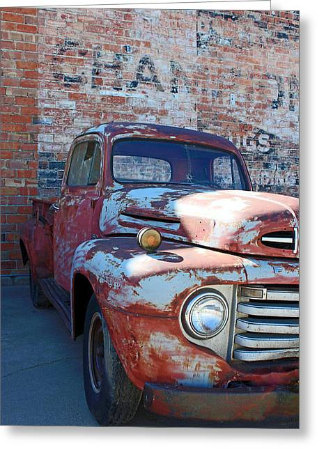 A Truck In Goodland Greeting Card