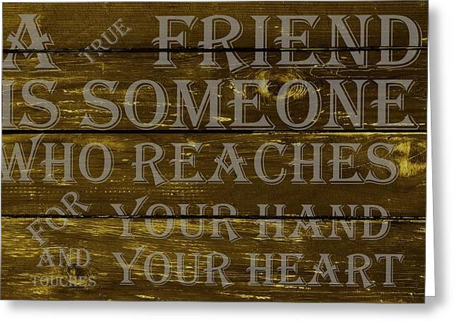 A True Friend Greeting Card by Movie Poster Prints