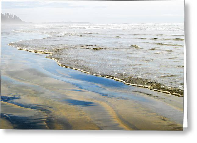A Twisted Tide Greeting Card by Allan Van Gasbeck