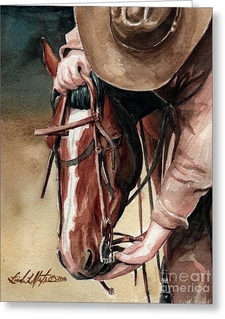 A Useful Horse Greeting Card