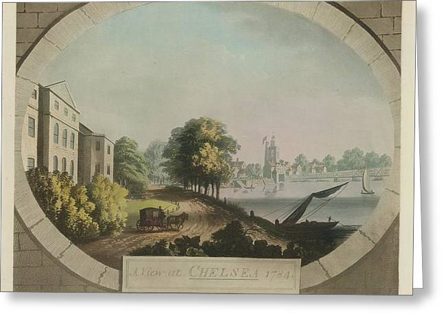 A View At Chelsea Greeting Card
