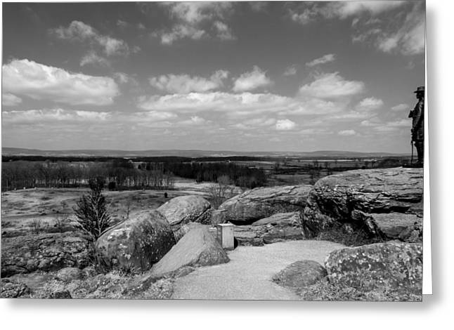 A View From Little Round Top Greeting Card