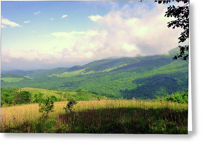 Greeting Card featuring the photograph A View From Smith Mt. by Jim Whalen