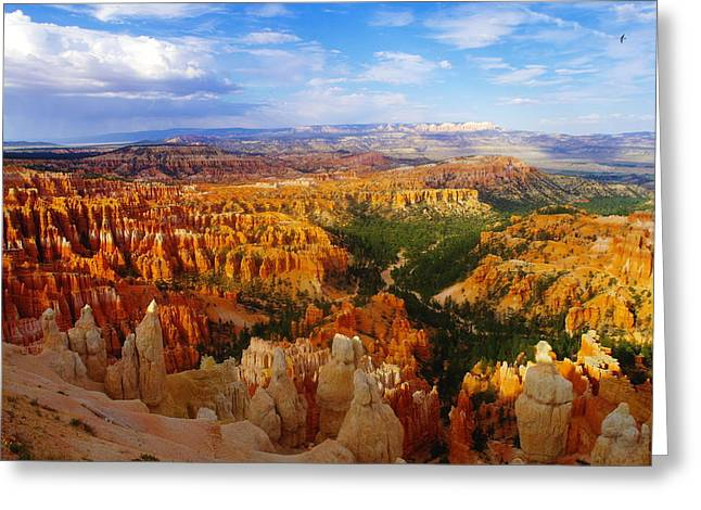 A View Into Bryce Greeting Card by Jeff Swan