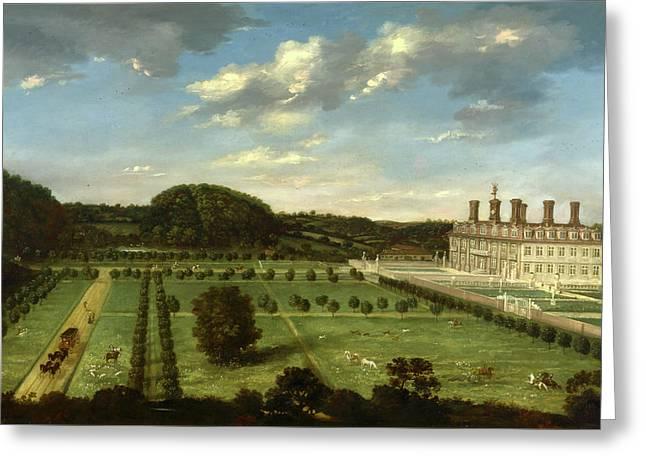 A View Of Bayhall, Pembury, Kent Richard Amhersts Manor Greeting Card