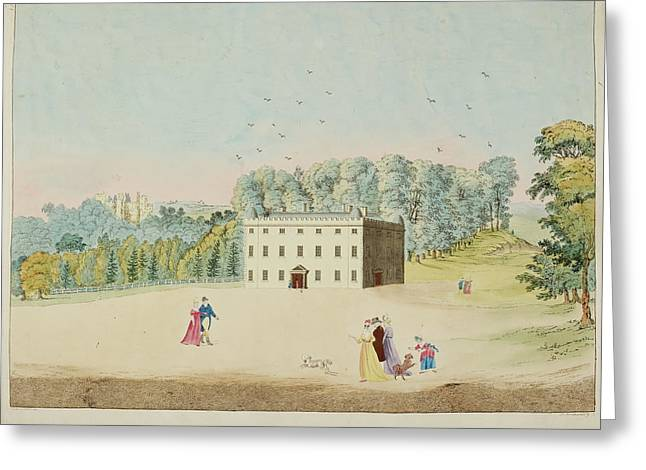 A View Of Dynevor Castle Greeting Card by British Library