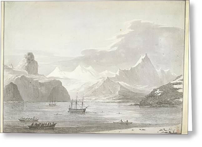 A View Of Snug Corner Cove Greeting Card by British Library