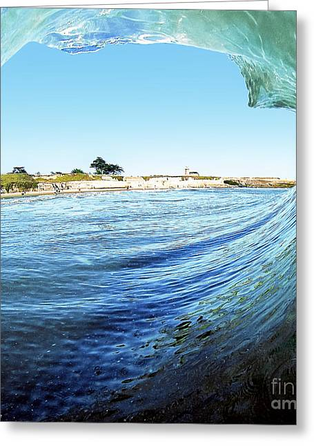 Greeting Card featuring the photograph A View Of The Lighthouse by Paul Topp