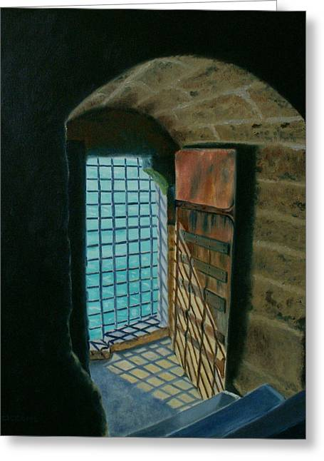A View To Freedom Greeting Card