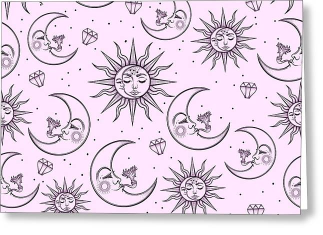 A Vintage Seamless Pattern That Greeting Card