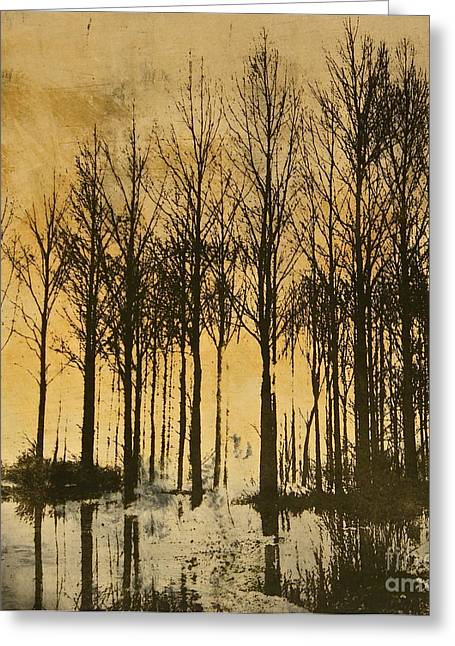 A Walk In France- Lithograph Greeting Card