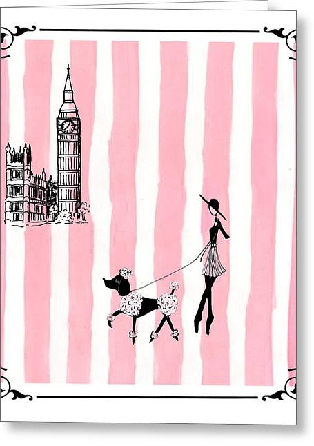 A Walk In London Greeting Card