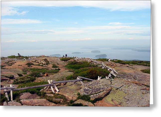 A Walk On The Mountain Greeting Card