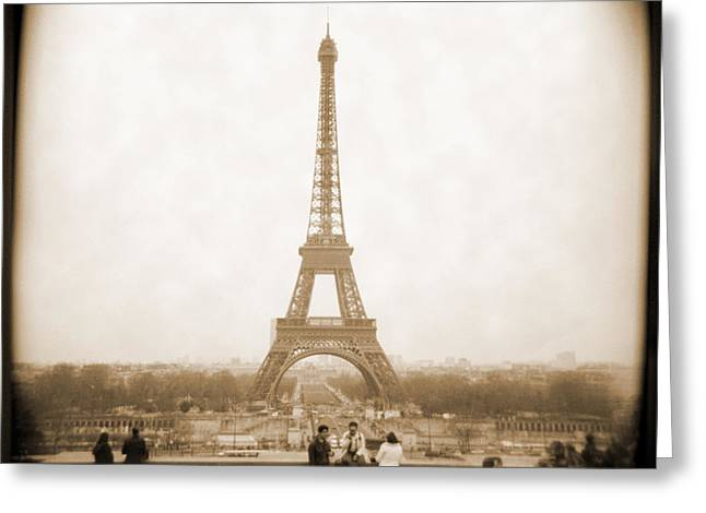 A Walk Through Paris 5 Greeting Card by Mike McGlothlen
