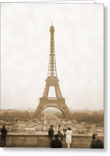 A Walk Through Paris 5 Greeting Card