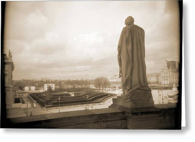 A Walk Through Paris 8 Greeting Card by Mike McGlothlen