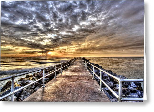 A Walk To The Horizon Greeting Card by Brent Craft