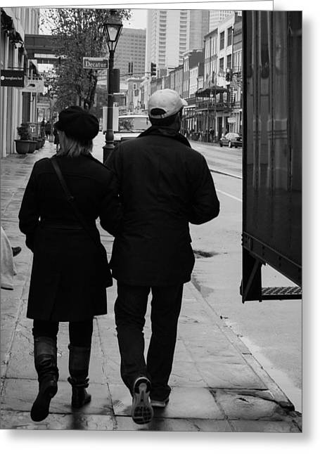 A Walk Together Greeting Card